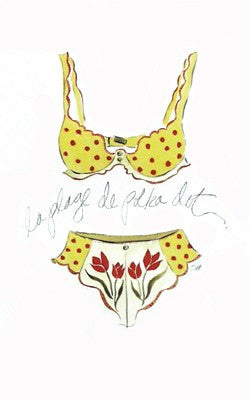 La Plage de Polka Dot Posters by Tina Amico - FairField Art Publishing