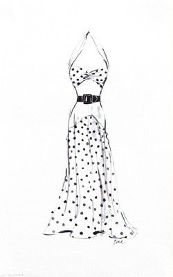 Dress in Polka Dots