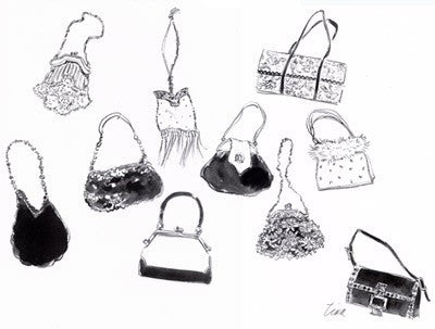 Ten Handbags Posters by Tina Amico - FairField Art Publishing