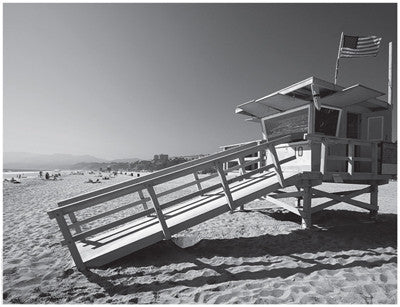 California Lifeguard Stand