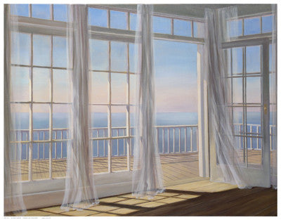 Morning Breeze Coastal by Carol Saxe - FairField Art Publishing