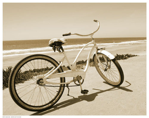 Beach Bike Coastal by Anon - FairField Art Publishing