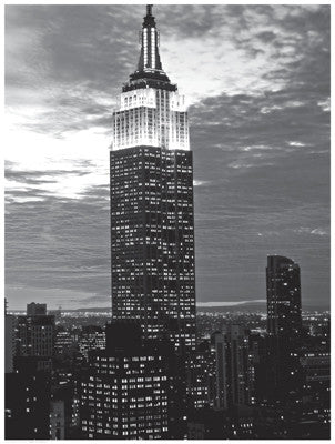 Empire State Evening by Anon - FairField Art Publishing