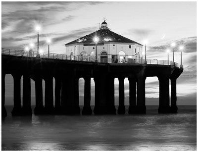 Manhattan Beach Pier II, California by Anon - FairField Art Publishing