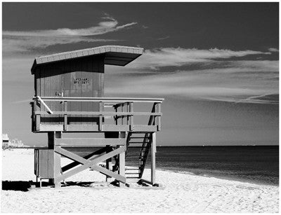 Lifeguard Stand III by Anon - FairField Art Publishing