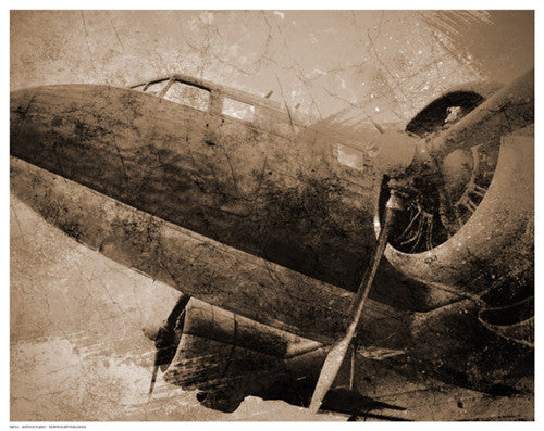 Antique Plane by Anon - FairField Art Publishing