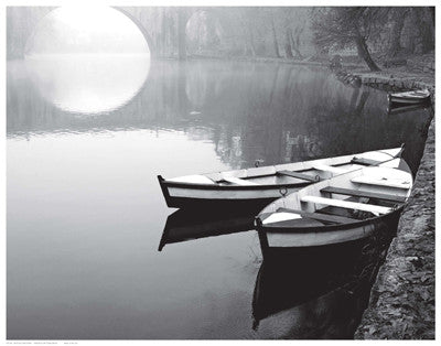 Moonlit Mooring by Anon - FairField Art Publishing
