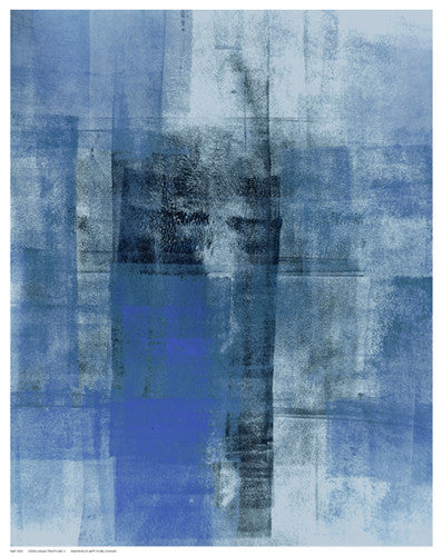 Cerulean Texture II Abstract by Tice - FairField Art Publishing