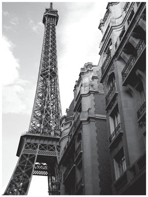 Approaching the Eiffel Tower by Anon - FairField Art Publishing