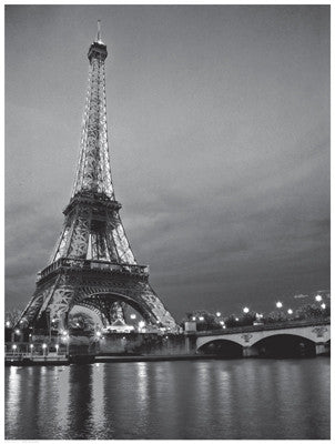 Paris Night Posters by Anon - FairField Art Publishing