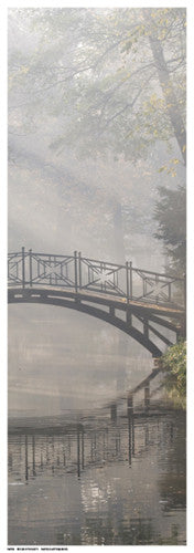 Bridge in the Mist II by Anon - FairField Art Publishing