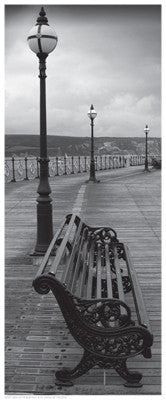 Bench on the Boardwalk Photography by Anon - FairField Art Publishing