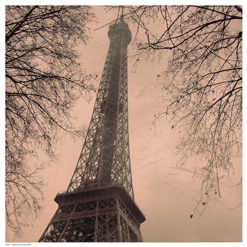 Eiffel in Warm Sky by Anon - FairField Art Publishing