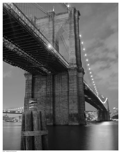 Brooklyn Bridge Shadow Giclee