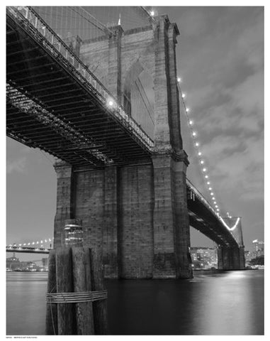 Brooklyn Bridge Shadow Architecture by Pavone - FairField Art Publishing