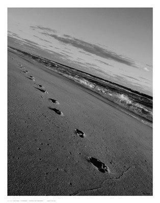 Footprints Posters by Eve Turek - FairField Art Publishing