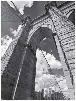 Brooklyn Bridge Arch Posters by Anon - FairField Art Publishing