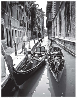 Gondola Pair, Venice by Anon - FairField Art Publishing