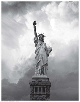 Majestic Lady Liberty by Anon - FairField Art Publishing