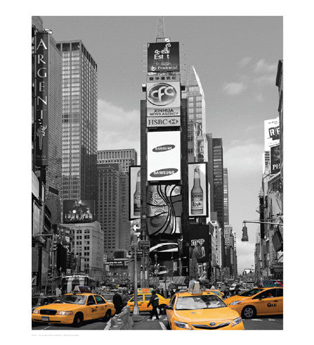 Yellow Cabs at Times Square North Posters by Igor Maloratsky - FairField Art Publishing