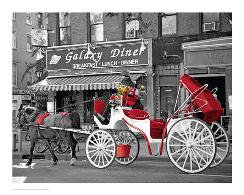 Ninth Avenue Carriage by Igor Maloratsky - FairField Art Publishing