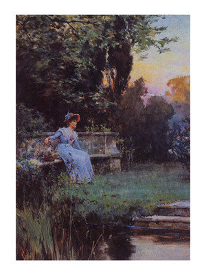 A Moment's Peace Traditional Art by Alfred Glendenning - FairField Art Publishing