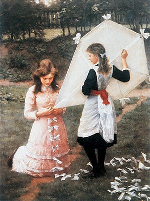 The Kite Traditional Art by Frederick Morgan - FairField Art Publishing