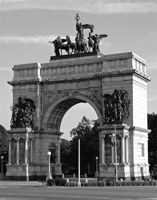 Grand Army Plaza Arch, Brooklyn by Phil Maier - FairField Art Publishing