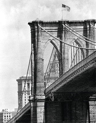 Brooklyn Bridge Perspective by Phil Maier - FairField Art Publishing