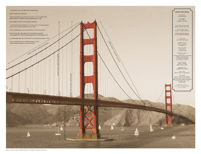 Golden Gate Architecture by Phil Maier - FairField Art Publishing