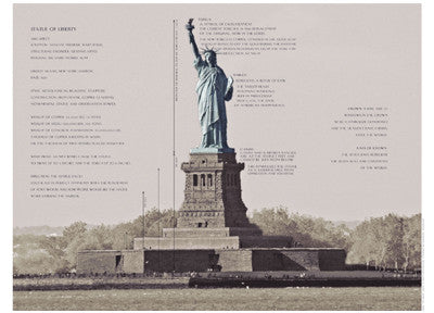 Statue of Liberty Architecture Posters by Phil Maier - FairField Art Publishing