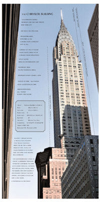 Chrysler Building Architecture by Phil Maier - FairField Art Publishing