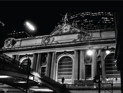 Grand Central Station at Night Architecture by Phil Maier - FairField Art Publishing