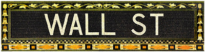 Wall Street Subway Sign