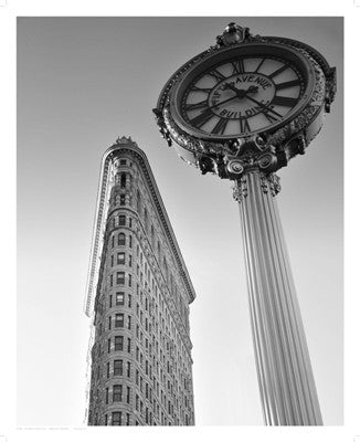 Flatiron Clock by Phil Maier - FairField Art Publishing
