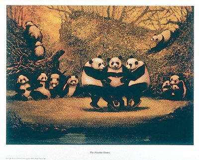 Panda's Dance Novelty by R.V. Schwedler - FairField Art Publishing