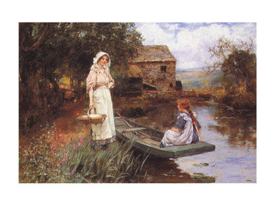 Afternoon Picnic Traditional Art by John Yend King - FairField Art Publishing