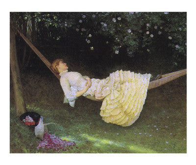 The Hammock Traditional Art by Edward Killingworth Johnson - FairField Art Publishing