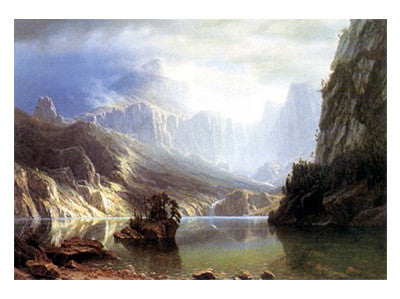 Sierra Nevada Landscapes by Albert Bierstadt - FairField Art Publishing