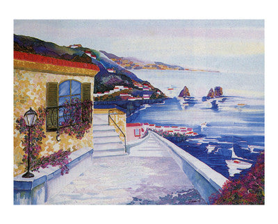 View of Capri Coastal by Constance Byrd - FairField Art Publishing