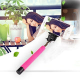 Wired Selfie Stick Mono Pod Of Smartphone Photography