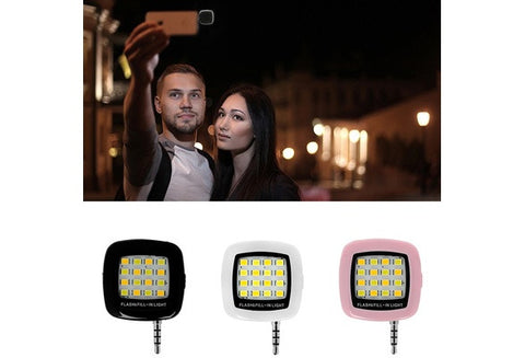 Smart Selfie Led Camera Flash For Mobile Phone Photography