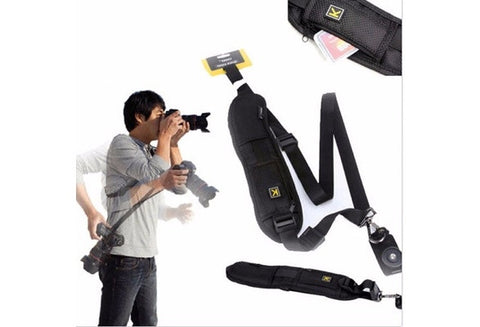 ~Anti Slip Camera Single Shoulder Sling Strap for DSLR