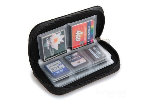 Memory Card Storage Wallet