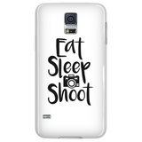 Eat Sleep Shoot - Custom Phone Cases
