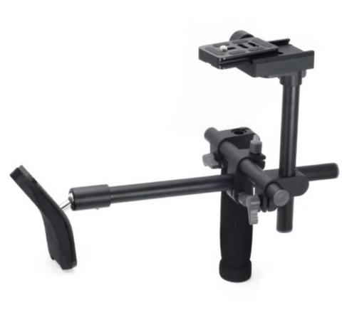 Pro Single Shoulder Stabilizer System W/quick Release Plate For Better Photos