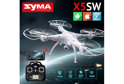 WIFI RC Drone FPV Quadcopter with HD Camera 2.4G 6-Axis
