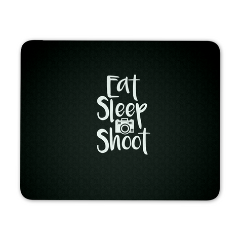 Eat Sleep Shoot - Custom Mouse Pad