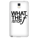 What The 'F-Stop' - Custom Phone Cases
