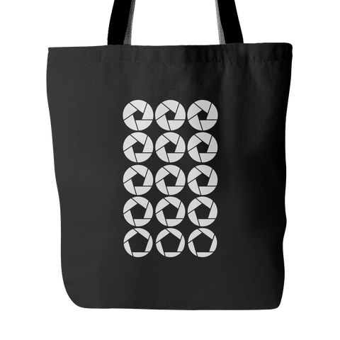 Tote Bag - Aperture Setting Custom Tote Bag